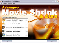 Ashampoo Movie Shrink & Burn 2 screenshot
